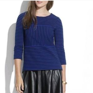 Madewell - Gallerist Ponte Stripe Top